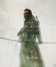 """Black arrow I have saved you to the last. Go now and speed well"" #TheHobbit #ThereAndBackAgain #Bard"