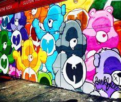 #streetart #newyork #usa #bisounours