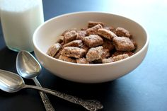 Growing up, cinnamon toast crunch was an ever present staple in our pantry along with the complete arsenal of sugar-crusted cereals including pop tart crunch, remember those? These dazzling cinnam…