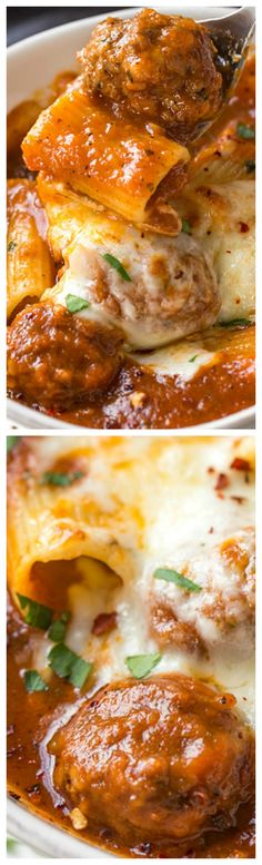 Rigatoni Meatball Soup ~ Wonderful, Irresistible Soup!