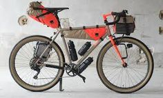 you can expect to wait 12 months as a result of high demand. Fern only sells their custom racks and stems with their framesets or complete bikes. Touring Bicycles, Touring Bike, Road Bikes, Cycling Bikes, Cycling Equipment, Road Cycling, Mountain Bike Shoes, Mountain Biking, Bikepacking Bags