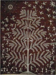 ~~En savoir plus sur l'art warli : peinturewarli.com La collégiale Sainte Croix de Loudun accueille cet été 130 peintures des Adivasis de l'Inde, autrement dit des Aborigènes, premiers occupants de cet immense territoire aujourd'hui dominé par la culture...