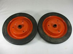 Ad Ebay Solid Rubber Cart Wagon Dolly Wheels Pedal Car W Metal Rims Scotts 10 X 1 5 In 2020 Hand Dolly Pedal Cars Wagon