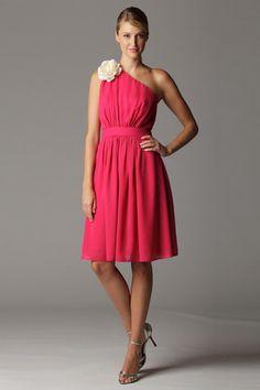 Bridesmaid dress- Hot pink. Aria.