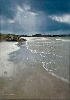 Camusdarach Beach Scotland  Scottish Landscape by PaperSnapdragon, £27.00