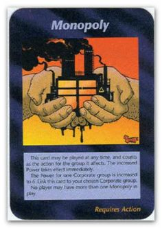 Illuminati Card Monopoly