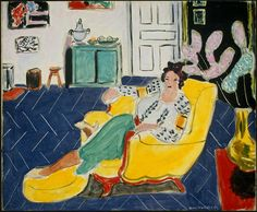 Henri Matisse, Woman Seated in an Armchair, 1940