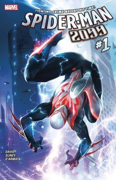 Spider-Man 2099 (2015) #1 #Marvel #SpiderMan2099 (Cover Artist: Francesco Mattina) Release Date: 10/14/2015