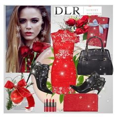 """""""DLR Luxury Boutique 2"""" by dzenyy ❤ liked on Polyvore featuring Anja, Dolce&Gabbana, Valentino, Trussardi, Borbonese, Clinique and DLRLuxuryBoutique"""