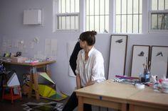 The Studio in Echo Park, from  Lauren Spencer King — Artist, Studio & Apartment, Echo Park & Silverlake, Los Angeles