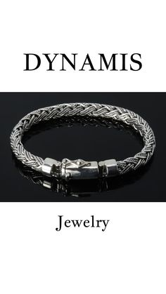 Mens Silver Jewelry, Sterling Silver Bracelets, Jewelry Crafts, Handmade Jewelry, Men Bracelets, Handmade Sterling Silver, Biker, Men's Fashion, Jewels