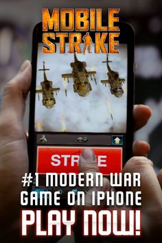 #1 Modern War Game on iPhone. Play now!