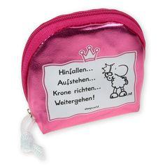 """Mäppchen für Prinzessinnen aus der Serie """"Krone richten"""" von sheepworld. http://sheepworld.de/shop/nach-Serien-Motive/Krone/Maeppchen-KRONE.html"""