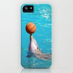 Dolhin and Ball iPhone & iPod Case by Lynn Bolt - $35.00