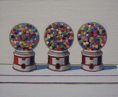 Sweet Stuff - Wayne Thiebaud Lesson Plan: Painting for Kids - KinderArt