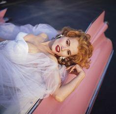 Michel Comte :: Geena Davis for Vanity Fair, 1992 Blond, Convertible, 1940s Woman, Geena Davis, Catwalk Models, Felicity Jones, Christy Turlington, Gal Gadot, Celebs