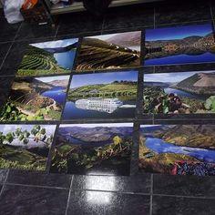 Placas com vinil impresso