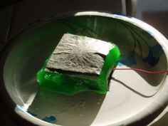 One can Diy a replacement for a battery cell with a 'microbial fuel cell' from jello, yeast and carbon paper