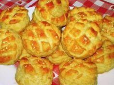 Gyors, omlós pogácsa Waffles, Muffin, Breakfast, Food, Morning Coffee, Essen, Waffle, Muffins, Meals