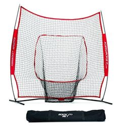 Rukket Sports 7 x 7 Baseball & Softball Practice Net with Bow Frame What Is Baseball, Baseball Scores, Baseball Pitching, Better Baseball, Sports Baseball, Baseball Players, Softball, Baseball Tickets, Baseball Tips