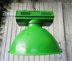 riesige #Industrielampe für`s #Loft - #Industrial  von Gerne Wieder.GbR auf DaWanda.com #factorylighting #vintagelightin #vintagelamp #factorylamp