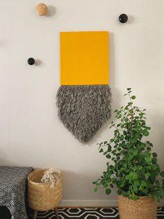 Mariola | Handmade Fiber wall art | Fringe art | Contemporary wall art | Wall hanging | Wall Tapestry | Fabric wall art | Modern fiber art