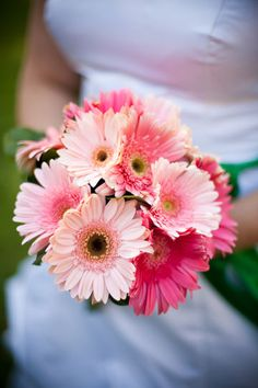 Pink flowers from MY VERY WEDDING! Photo by CK Photography @Cindy Pederson