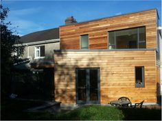 Contemporary extension & total renovation to an existing semi-detached dwelling at Upper Beaumount, Ballinlough, Cork City Cork City, House Extensions, Semi Detached, Home Projects, Cladding Ideas, New Homes, Contemporary, Architecture, Interior