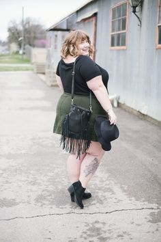 You want plus size mini skirts? You got em! Here's my faves!