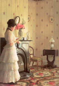 William McGregor Paxton – The Love Letter