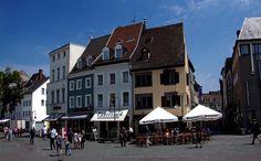 St Johanner Markt in Saarbruecken, Germany.
