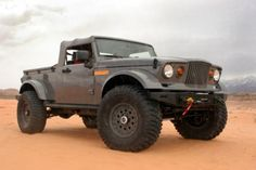 old school jeep 4x4.