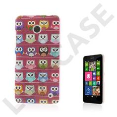 Westergaard (Multiple Red Owls) Nokia Lumia 630 / 635 Case