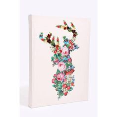 Urban Outfitters - Deer Collage Canvas