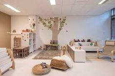 Classroom Design/Layout (from Sandra Grootscholten) Daycare Design, Classroom Design, Classroom Decor, Montessori Classroom, Montessori Baby, Church Nursery, Nursery Room, Infant Toddler Classroom, Decoration Creche