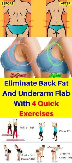Eliminate Back Fat And Underarm Flab With 4 Quick Exercises – Healthy National