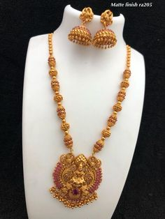 Temple jewellery Available at AnkhJewels for booking what sapp 919619291911 Gold Bangles Design, Gold Earrings Designs, Gold Jewellery Design, Gold Designs, Gold Temple Jewellery, Gold Jewelry, Gold Mangalsutra Designs, Antique Jewellery Designs, Bridal Jewelry