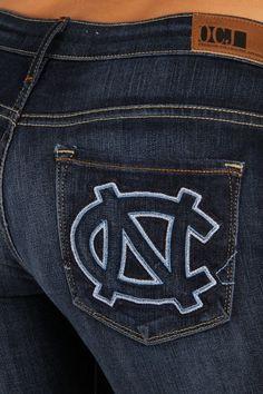 North Carolina Branded Skinny in Deep Indigo