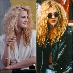 Drew Barrymore 90's style