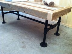 Industrial Style Reclaimed Coffee Table Or TV Stand By Scottcassin