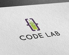 logo template, coding, code, lab, laboratory, programming