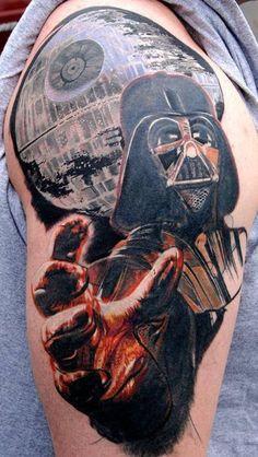 Darth Vader/Star Wars Tattoo