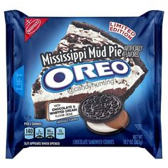 Weird Oreo Flavors, Pie Flavors, Cookie Flavors, Oreos, Mississippi Mud Pie, Yummy Treats, Yummy Food, Fast Food Reviews, Junk Food Snacks
