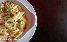 Ensalada fría Bávara En esta receta de cocina proviene de la gastronomía alemana. Es un primer plato con gran cantidad de alimento a pasar de …