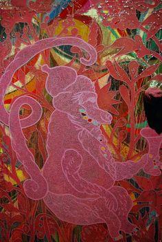 CHRIS OFILI http://www.widewalls.ch/artist/chris-ofili/ #contemporary #art #installations