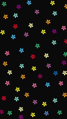 Painted Doodles tjn iPhone Wallpaper background List of Cool Black Wallpaper for Smartphones 2019 Black Floral Wallpaper, Black Wallpaper Iphone, Cellphone Wallpaper, Flower Wallpaper, Screen Wallpaper, Cool Wallpaper, Mobile Wallpaper, Pattern Wallpaper, Ios Wallpapers