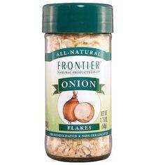 Frontier Natural Onion Flakes White (1x1.76Oz)