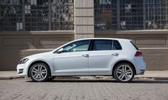 The 2015 Golf TDI is the diesel-powered variant of Volkswagen's Mk. VII Golf, and it's an appealing alternative to hybrid commuters. Vw Golf Tdi, Vw Tdi, Volkswagen New Car, Volkswagen Models, Golf 1, Small Cars, Car Wallpapers, Dream Cars, Automobile