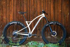 handbuilt custom steel mountain bike