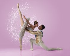 Joburg Ballet's Shannon Glover & Ruan Galdino as Cinderella & The Prince - Photo by Lauge Sorensen